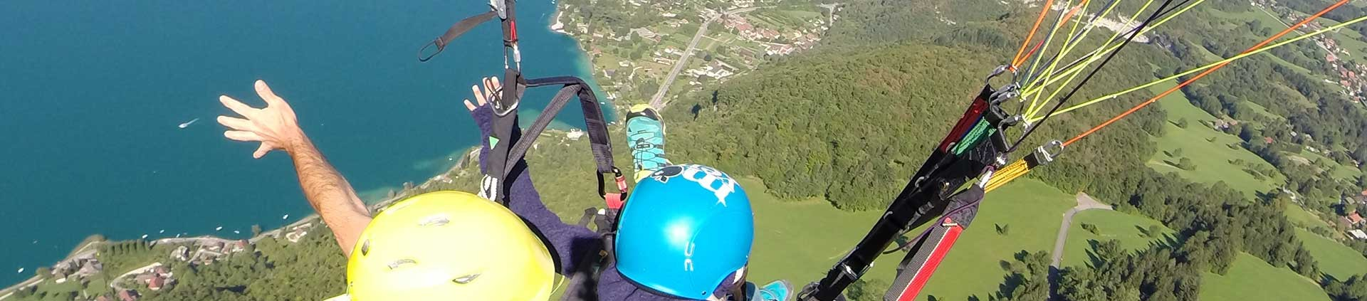 Paragliding school Annecy France