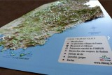 Carte en relief ALPES :: 3Dmap