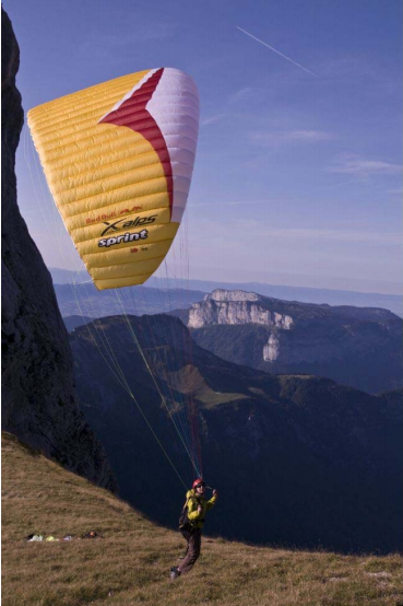 PARAPENTE D'OCCASION GIN Sprint Xalps S